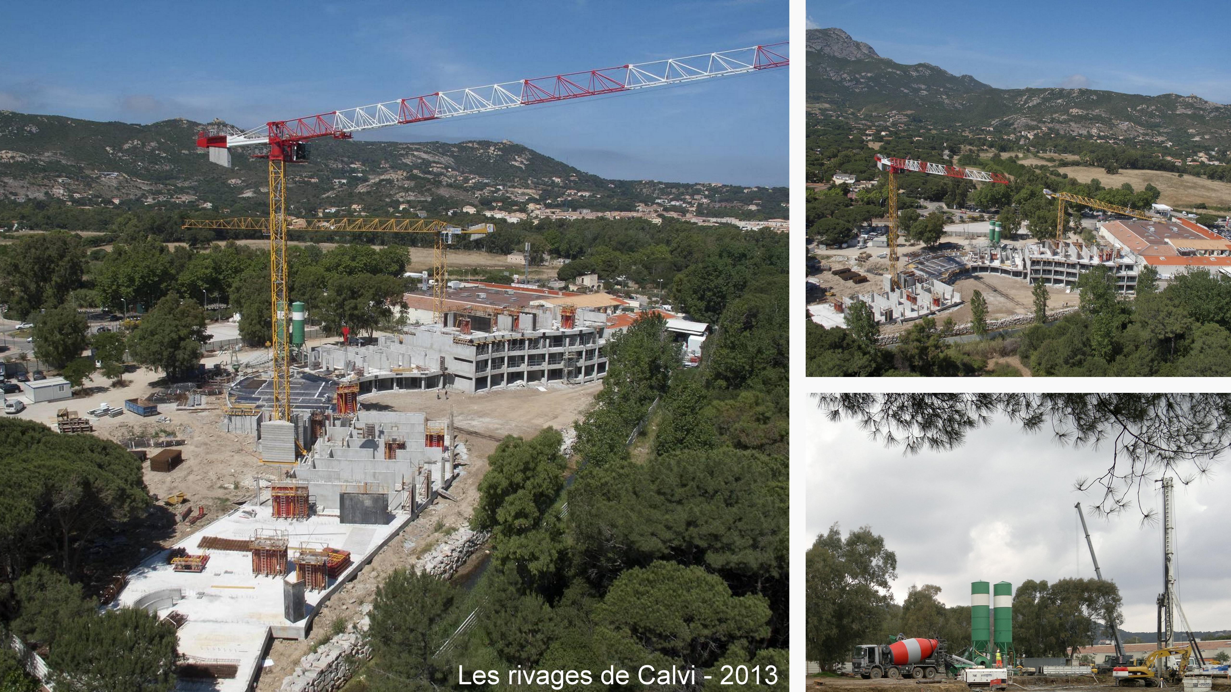 construction et chantier en corse